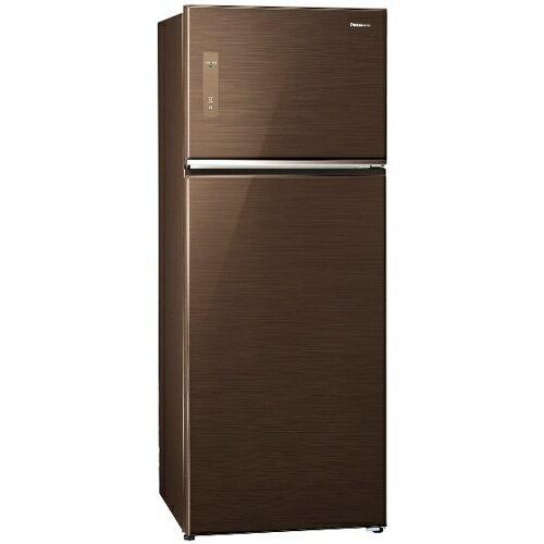 Panasonic 國際 NR-B487TG-T (翡翠棕) 雙門冰箱 485L