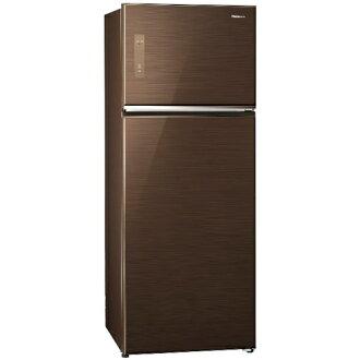 【夏の好禮祭】Panasonic 國際 NR-B487TG-T (翡翠棕) 雙門電冰箱 485L