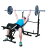 Mid-Width Bench Arms Height Adjustable Fitness Home Use 0