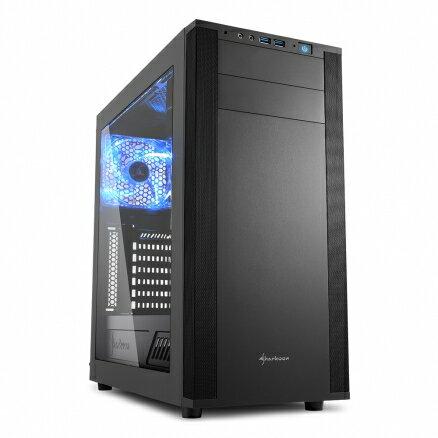 旋剛Sharkoon酷玩者M25-W(B)電腦機殼PC機殼電競機殼電腦機箱【迪特軍】