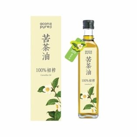 買5送1aconpure連淨純苦茶油(第一道初榨)500ml瓶限時特惠
