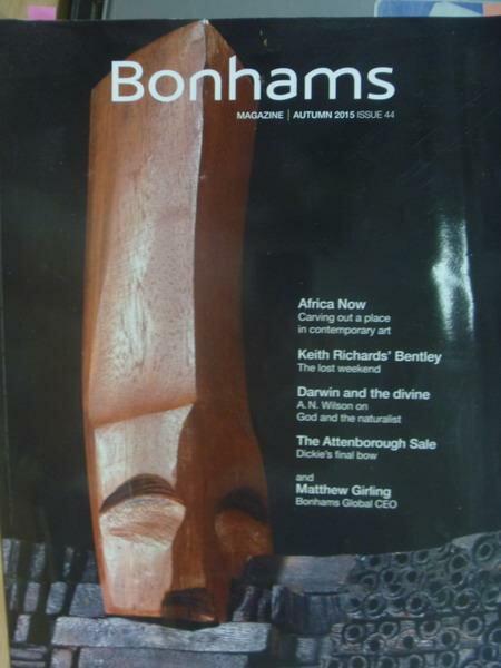【書寶二手書T2/收藏_YCN】Bonhams magazine_2015 Autumn