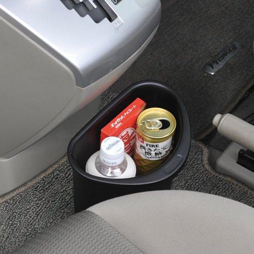 權世界@汽車用品 日本 SEIWA 車用 半圓型 低重心 防傾倒 垃圾桶 飲料置物桶 W632