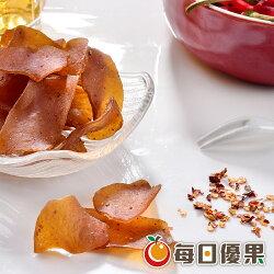 高纖辣味蒟蒻薄片大包裝500公克【每日優果】