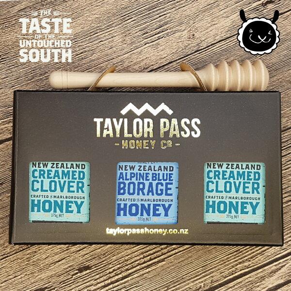 壽滿趣:【壽滿趣-TaylorPass】混裝蜂蜜禮盒(琉璃苣x1三葉草x2)