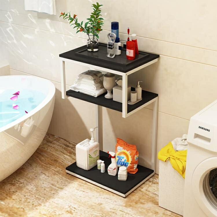 衛生間置物架落地防水多層洗手間臉盆儲物柜浴室廁所陽臺收納架子 娜娜小屋