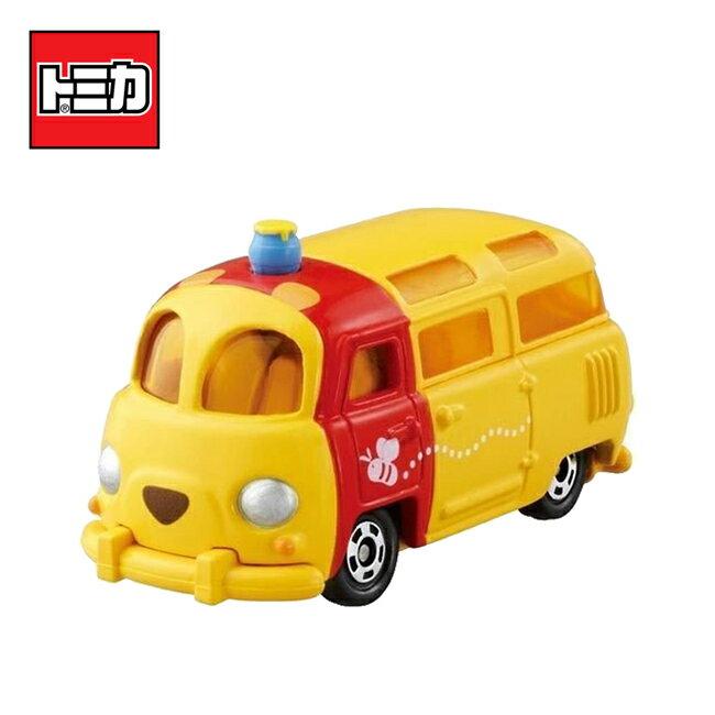 【日本正版】TOMICA DM-18 小熊維尼 麵包車 玩具車 維尼 Disney Motors 多美小汽車 - 840411