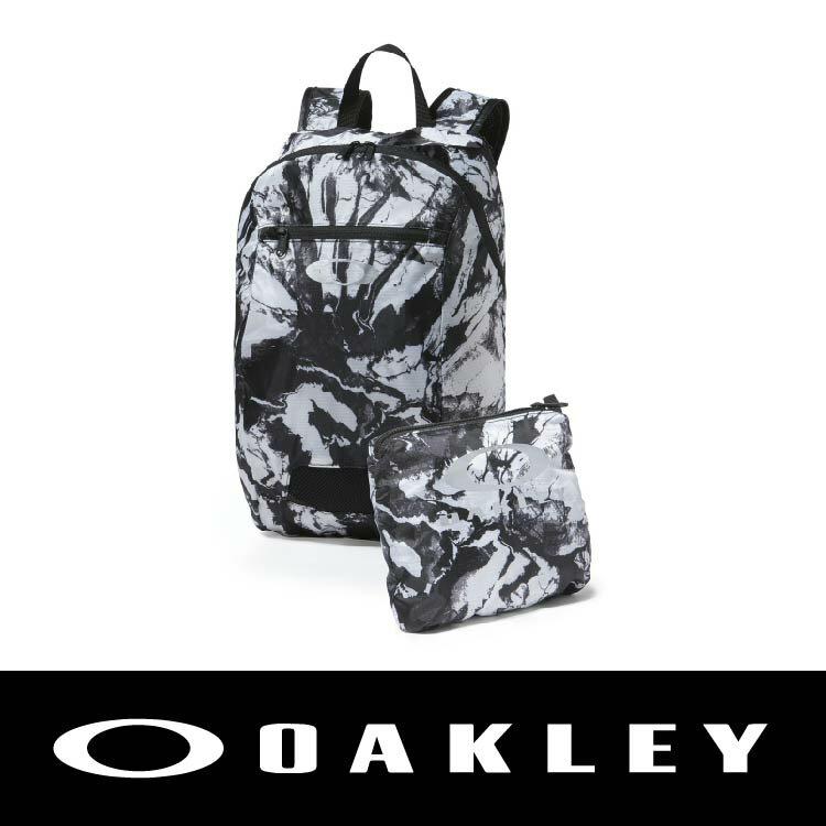 【新春滿額送後背包!只到2/28】OAKLEY SP16 PACKABLE BACKPACK WHT 灰白色 OAK-92732-100 萬特戶外運動