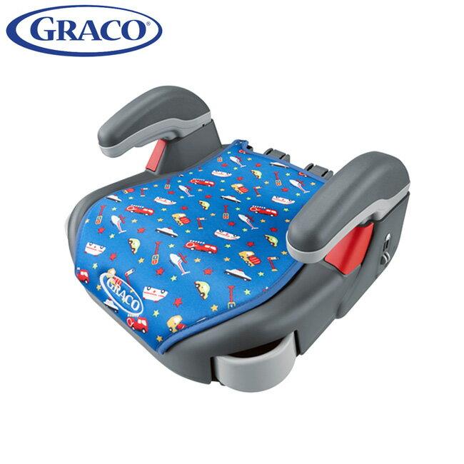 GRACO 幼兒成長型輔助汽車安全座椅 COMPACT JUNIOR-卡通車
