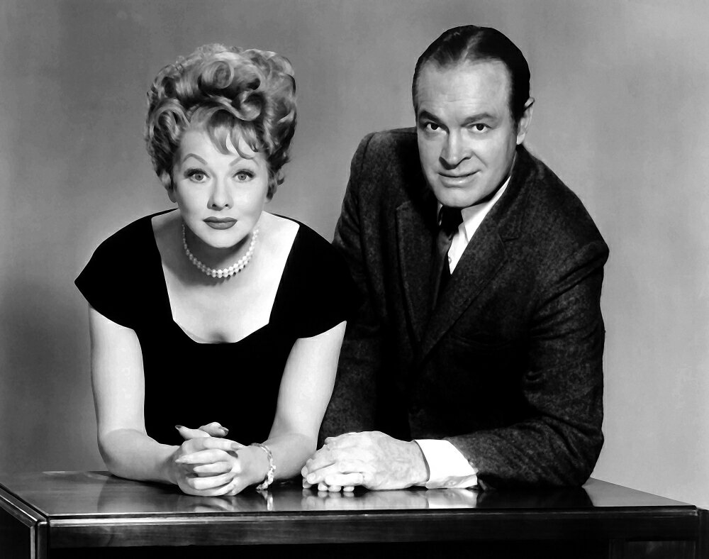Posterazzi: Publicity Still Featuring Lucille Ball And Bob