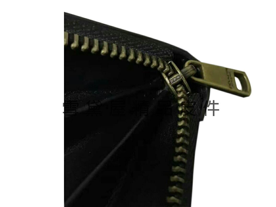 限時 滿3千賺10%點數↘ | ~雪黛屋~COACH 長皮夾國際正版保證進口防水防刮皮革U型包覆拉鍊型主袋附品證購證盒塵套提袋等候10-15日C745971