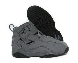 NIKE AIR JORDAN TRUE FLIGHT 灰 高筒 小童鞋 US 1~13.5 343796-027 D