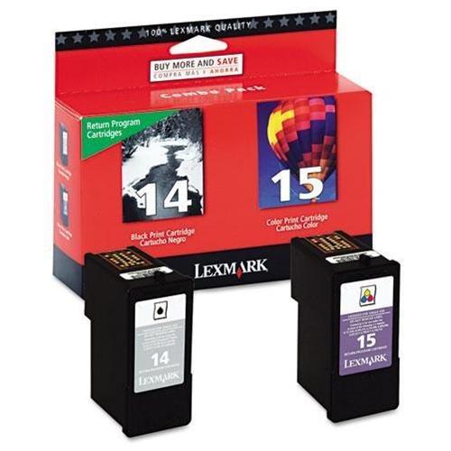 Lexmark No. 15 Ink Cartridge - Inkjet - 175, 150 - Black, Color - 1 Each 1