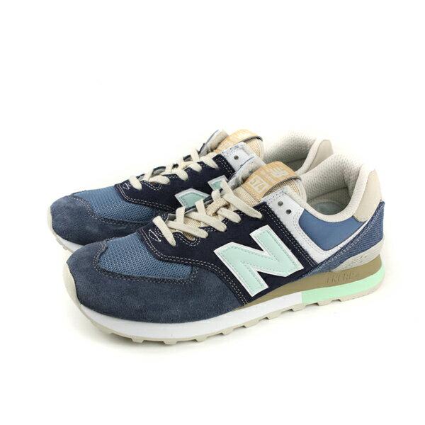 NEWBALANCE574系列復古鞋運動鞋藍色男鞋ML574BSL-Dno402