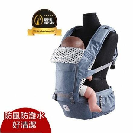 【送卡通口水巾】Pognae NO.5超輕量機能坐墊型背巾  嬰兒背巾 揹帶 揹巾@六甲媽咪