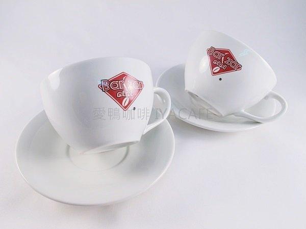 ~愛鴨咖啡~Bar Zar nini 義大利 卡布奇諾咖啡杯盤 200cc ︰600元