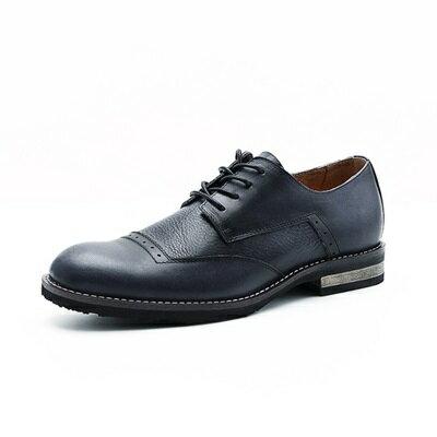 短靴真皮繫帶靴子-英倫紳士巴洛克雕花男靴3色73kk68【獨家進口】【米蘭精品】