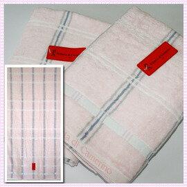 ~esoxshop~╭~Roberta格紋印花浴巾^(66x137cm^)╭~居家 ~毛巾