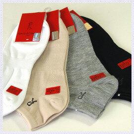 【esoxshop】╭*Roberta精梳棉船襪╭*吸濕透氣薄襪《船襪踝襪學生襪J8》