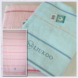 【esoxshop】╭*LIUKOO亮晶晶印花浴巾(76x140cm) 共2色╭*居家必備良品《毛巾/澡巾/浴巾》