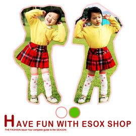 衣襪酷 EWAKU:【esoxshop】╭*郁庭小花朵可愛保暖泡泡童襪套╭*多色╭*童襪系列《襪套保暖襪兒童棉襪》
