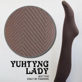 【esoxshop】╭*郁庭 小斜紋造型褲襪╭*造型時尚新款《絲襪/褲襪褲/造型襪》