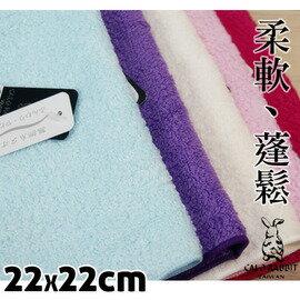 【esoxshop】╭*CALO RABBIT 柔軟蓬鬆系方巾╭*5色╭*居家必備良品《手巾/毛巾/手帕》