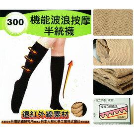 【esoxshop】╭*isox 機能波浪按摩半統襪╭*完美曲線╭*300D《瘦腿襪/美腿襪/纖體/美體/雕塑》