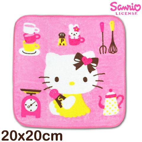 【esoxshop】凱蒂貓純棉小手巾 料理款 台灣製 Sanrio