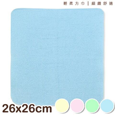 【esoxshop】純棉素面方巾 台灣製