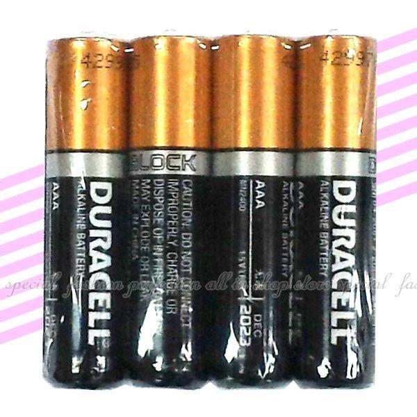 金頂鹼性電池4號(AAA) 金頂電池 DURACELL鹼性電池 4入【GU227】◎123便利屋◎
