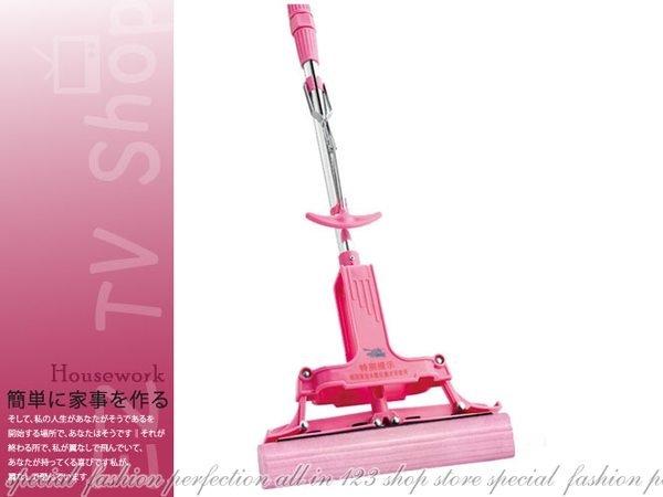 日本神膚奇肌『粉紅魔術拖把』比好神好用【DX155】◎123便利屋◎