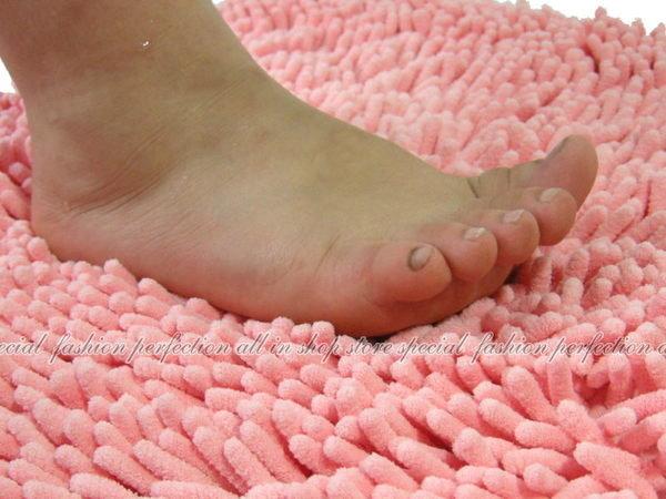 吸水防滑地墊/雪尼爾地毯 超細超柔軟纖維40 x 60 腳墊/門墊/防滑浴室墊【DS140】◎123便利屋◎