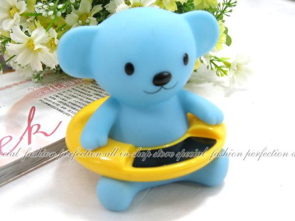 藍色熊寶貝電子測溫計 寶寶洗澡水溫計 測溫計 湯溫計【DX355】◎123便利屋◎