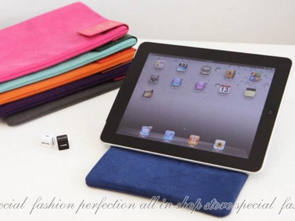 法蒂希ipad stand 2合1皮套支撐架ipad 2支撐架 平板保護套 保護殼 電腦包【DY106】◎123便利屋◎