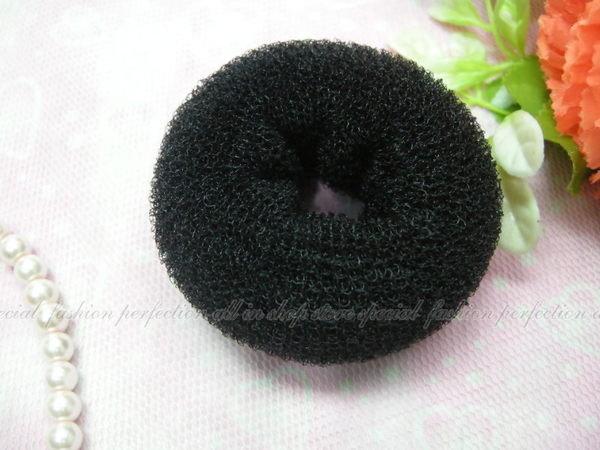 丸子甜甜圈『小6.5公分』包包頭丸子頭盤髮器 女人我最大林葉亭介紹【DY330】◎123便利屋◎