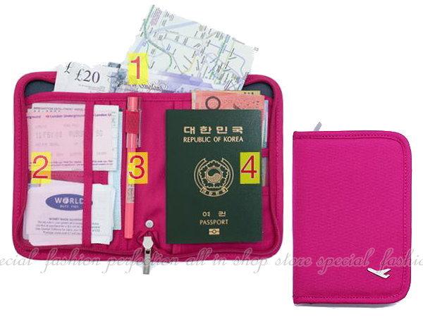 法蒂希 短款護照包 戶外旅行證件套 護照夾 卡包 旅行收納包 護照套【DI390】◎123便利屋◎