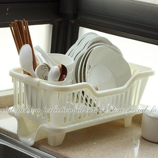 123便利屋:直式妙用滴水碗盤架『筷子架可外掛』碗盤滴水架碗筷餐具架【GN450】◎123便利屋◎
