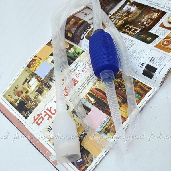 手吸虹吸管 簡易型虹吸管 換水器 洗砂器 換水必備工具【DF372】◎123便利屋◎