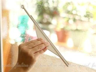 浴室鏡子刮水器 A0156 浴室鏡除霧刮霧器 玻璃清潔 玻璃刮刀【DA345】◎123便利屋◎