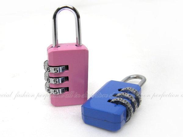 數碼便利鎖-造型鎖CH-A2 三環數字彩色密碼鎖【GI214】◎123便利屋◎