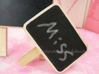迷你小黑板桌上型便利夾/MENO夾/名片夾 留言版【DF217】◎123便利屋◎