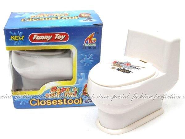 CF68637整人馬桶 趣味噴水馬桶 搞笑噴水 可當愚人節禮物 生日禮物【DF480】◎123便利屋◎