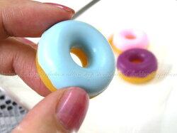新款二代 仿真麵包圈集線器 甜甜圈耳機捲線器mp3集線器 繞線器收線器【DG257】◎123便利屋◎