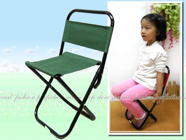 帆布摺疊式童軍椅7851 摺疊椅 摺疊板凳 休閒椅【DH185】◎123便利屋◎