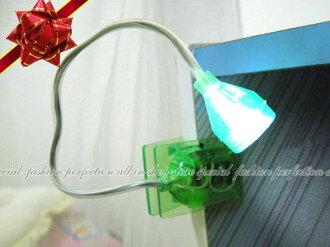 彩色萬用LED燈夾1168 軟管可彎夾燈 讀書燈 小夜燈 蛇燈【DI286】◎123便利屋◎