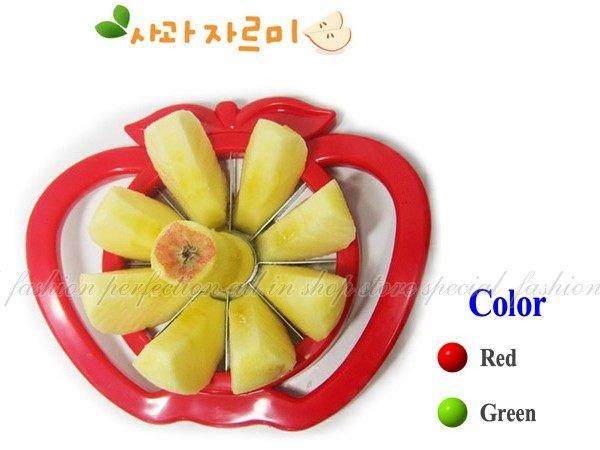 蘋果切 切蘋果器【F-618】 多功能不鏽鋼切果器 水果分片器 水果刀 切果器【DN174】◎123便利屋◎