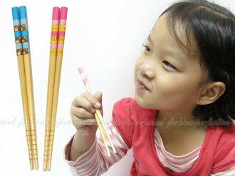 兒童木製筷子SGS認證 防滑 好夾【DN204】◎123便利屋◎
