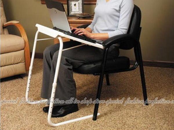 升降筆記型電腦桌 可調高低角度.褶疊收納 床上床邊桌 書桌 兒童餐桌 折疊桌【DR426】◎123便利屋◎