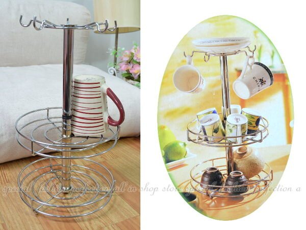 巧夫人歐式杯架 創意瀝水架 馬克杯立式杯架 碗盤架 紅酒杯奶瓶架【DL485】◎123便利屋◎